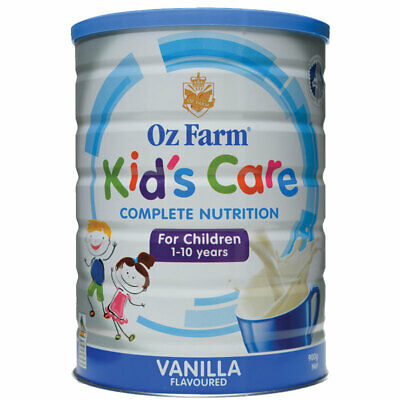 OZ Farm Kids Care Vanilla 900g Online Only