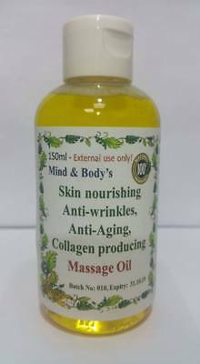 100% pure fresh Massage oil – for wrinkles, anti-aging and skin nourishing