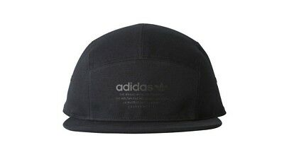 6f9c6fa4533 ADIDAS ORIGINALS HAT NMD Running 5-Panel Cap Black   Black BR4685 ...