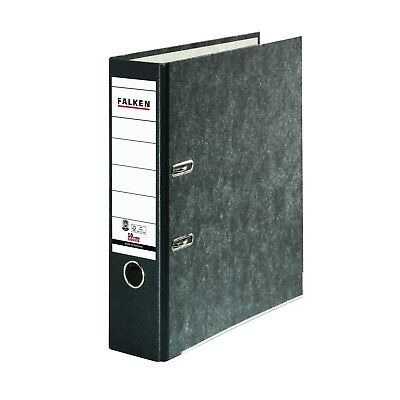 FALKEN Recycling folder A4 8cm Black Office supplies, Filing Products Arch Files