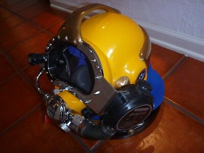 Kirby Morgan Gas Services Superlite 17B Diving Helmet