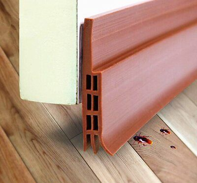 Emwel Door Draught Excluder Weather Stripping Soundproof Block Cold Hot Air and