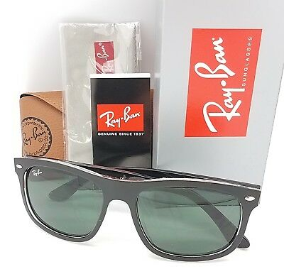 9d343a4145 NEW Rayban sunglasses RB4226 6052 71 56mm Matte Black Clear Green GENUINE  4226