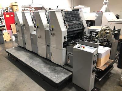 "Hamada B452 AI Automated 14"" X 20"" four color Press"