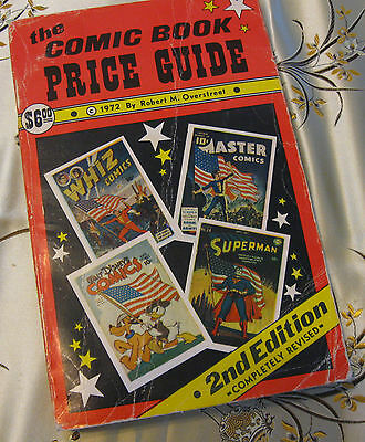 Overstreet 2nd Edition 1972 Comic Book Price Guide Second Robert M