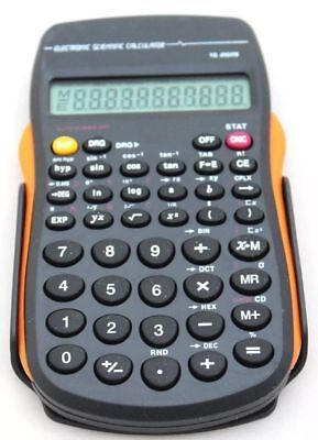 Scientific Calculator - Home Office Work and School – Battery Included – Compact