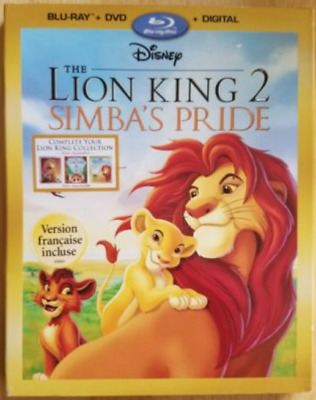 Disney THE LION KING 2 Simba's Pride - Blu-ray DVD Digital 2017 Edition SEALED!