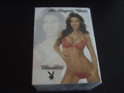 Non Sport Trading Card Set Of Lingerie  2009 Playboy
