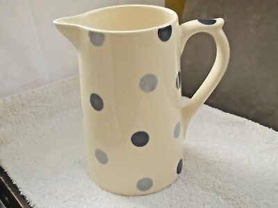 Fairmont & Main Blue Spotted Large Water / Custard Jug
