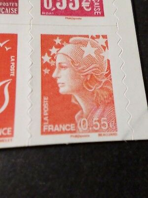 FRANCE 2008, timbre AUTOADHESIF 236, VISAGES MARIANNE BEAUJARD neuf**, MNH STAMP