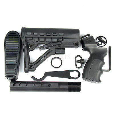 Mossberg 500 Tactical Adjustable Stock w/Grip Sling Swivel & Recoil Pad & Wrench