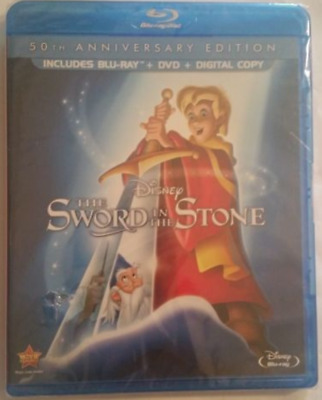The Sword in the Stone (Blu-ray Disc, 2013, 2-Disc Set, 50th Anniversary Edition