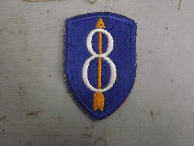WW2 8th Division Patch