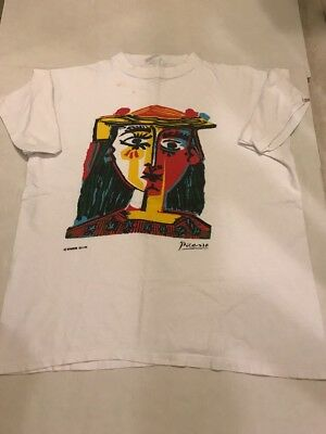 Picasso Bust of a Woman with Hat T-Shirt Large