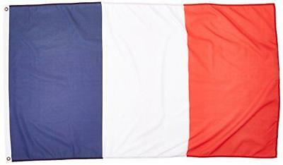 3ft x 5ft France Flag - Polyester - 3x5 French Flag Poly