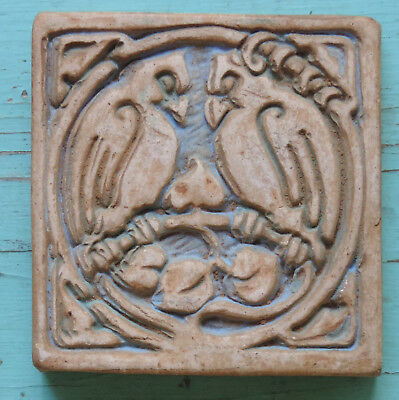 Batchelder California Tile with Two Birds never installed, unused condition