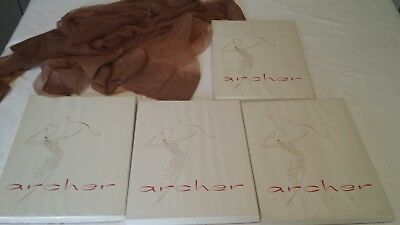 huge lot of vintage Archer stockings hosiery nylons nos in box 9.5 pinup