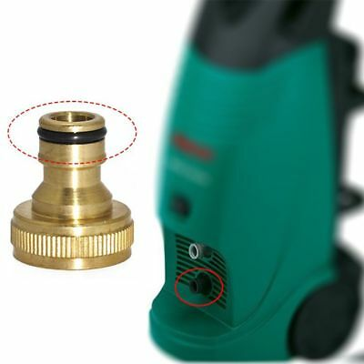 Gardening Hosepipe Pipe Water Hose Fitting Quick Connector Adaptor Tap Brass