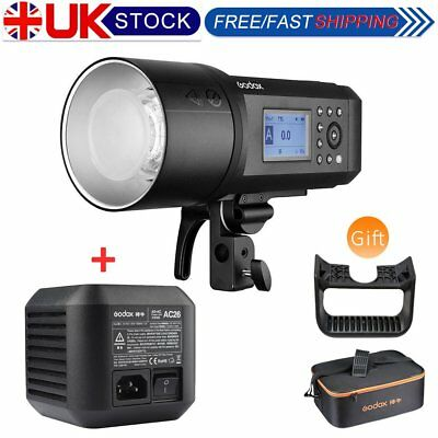 Godox AD600Pro 600Ws 2.4G TTL All-in-One Outdoor Flash with AC26 Power Adapter