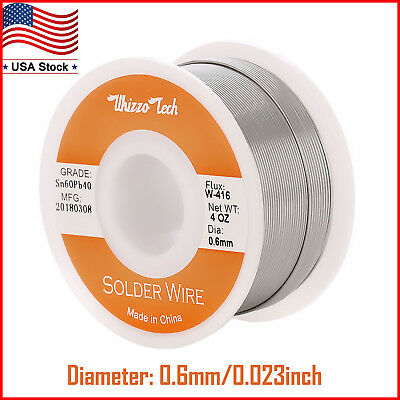 240 inches 60//40 Tin Lead Solder .022 Dia Micro Circuit Boards Electronics