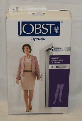 JOBST Medical Compression Stockings 30-40 mmHg Thigh CT Honey Small Opaque