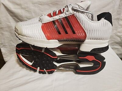 best authentic c055a 8e361 NEW - adidas ClimaCool 1 White Red Black Mens Sneakers - BB0667 - Sz 11.5