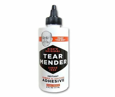 New! 6oz TG-6 ***TEAR MENDER*** Instant Fabric & Leather Adhesive Non-Toxic Glue