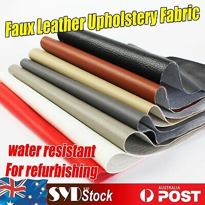 Faux Leather Upholstery Fabrics Furniture Car Seat Refurbishing Water Resistant