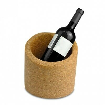 100% Portuguese Cork Wine or Champagne Ice Bucket with Impression for Bottle