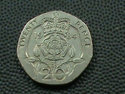 GREAT  BRITAIN   20 Pence   1984   ,   $ 2.99  maximum  shipping  in  USA