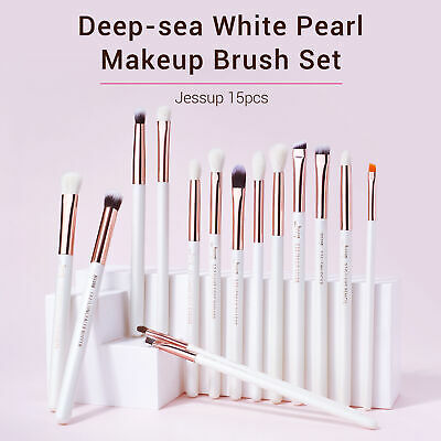 UK Jessup Professional 15Pcs Eye Makeup Brushes Set Eyeshadow Lip Brow Eyeliner