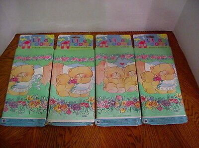 Bears Flowers Prepasted Wallpaper Border 4 Packs 20 yds Total Nursery Kids