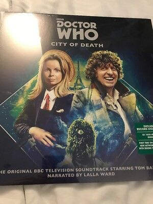 Doctor Who 'city Of Death' 2 X Heavyweight Green Vinyl - New Rsd 2018