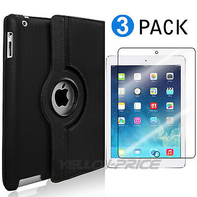 Lot IPAD 6TH GEN 2018 9.7 INCH 360 ROTATING A1893 A1954 CASE STAND COVER SMART