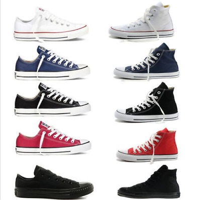 ALL STARs Men's Chuck Taylor Ox Low High Top shoes casual Canvas Sneakers HOT