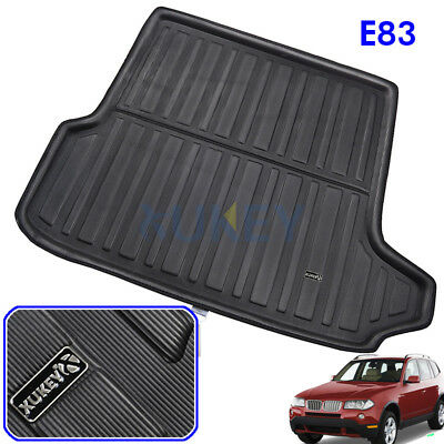 Tailored Boot Cargo Liner Trunk Mat Tray Floor Carpet For BMW X3 E83 2004-2010