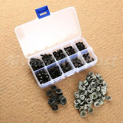 100pcs 6/8/9/10/12mm Mix Black Safety Eye For Teddy Bear Toy Doll Craft UK Stock