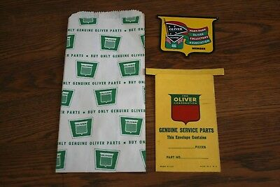NOS Oliver Tractor Advertising Sales Items  Lot of 3