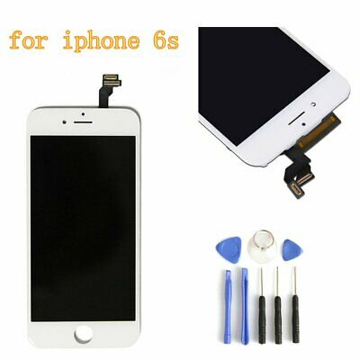 """White For IPhone 6S 4.7"""" LCD Display Touch Screen Digitizer Replacement Assembly"""