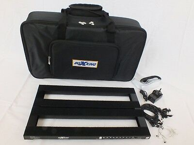 Rechargeable Li-ion POWERED GUITAR PEDAL BOARD with 10 outputs BoxKing PB4828A