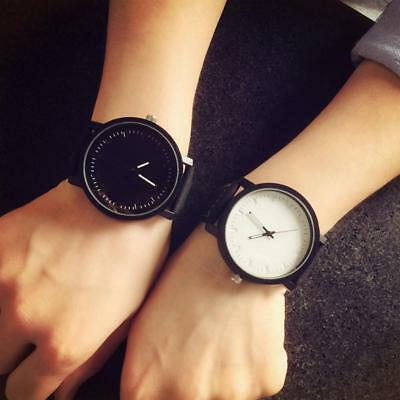 Women Wrist Watch Simple Fashion Water Resistant Shockproof Leather Bands Straps