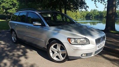 Volvo V50 1.8 Se Estate 2005 Silver