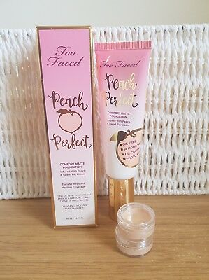 TOO FACED PEACH PERFECT FOUNDATION - SNOW- 2.5ML sample