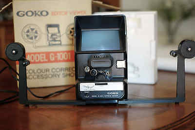 GOKO G-1001 FILM EDITOR 8 & SUPER 8mm ***NEW***
