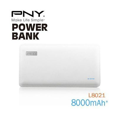 PNY (L8021) 8000mAh PowerPack Universal Rechargeable Battery Power Bank with out