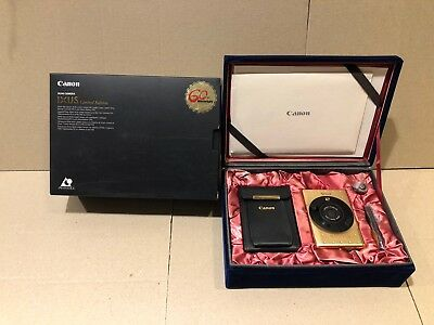 Canon IXUS GOLD Limited Edition 60Year