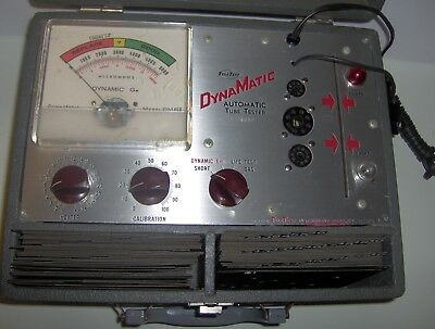 Dynamatic Model 456 Tube Tester very clean