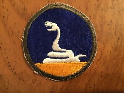 Ww2 Us Army 59Th Infantry (Ghost) Division Patch