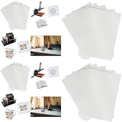 """A4 Sublimation Ink Transfer Paper, 50 Sheets, White Paper, 8.27"""" x 11.7"""""""