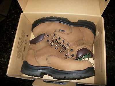 Red Wing Saftey Shoes Size 9 Wide New Water Proof Composite Toe